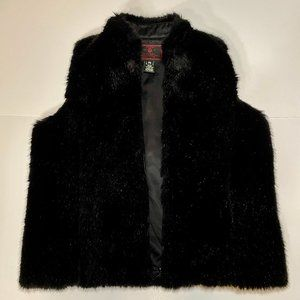 RALPH LAUREN Traditional Winter Black Vest, Size S
